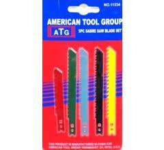 American Tool Group #11334 5 Piece Sabre Saw Blade Set
