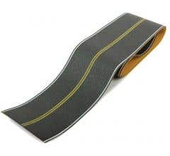 Walthers #949-1252 Flexible Self-Adhesive Paved Roadway - Vintage and Modern No Passing Zone
