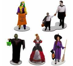 Lionel #1930070 Trick or Treaters (5 PIECE FIGURE PACK)