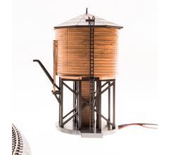 Broadway Limited #6131 Operating Water Tower w/ Sound Unlettered Weathered Brown