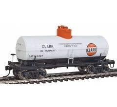 Walthers #920-100514 Type 21 ACF 10,000-Gallon Tank Car - Clark Oil GATX #9497