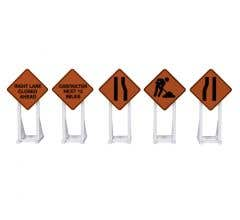 Lionel #2030240 Construction Signs 5-pack