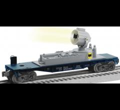 Lionel #1928570 Batman Symbol Searchlight Car