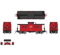 Rapido #144022 Northeastern-style Steel Caboose: WM - As Delivered Scheme