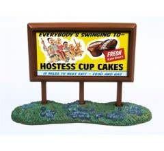 Classic Metal Works #21001 1950'S COUNTRY BILLBOARD (HOSTESS)