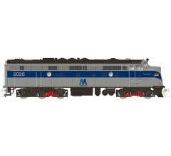 Rapido #15548 FL9 Locomotive w/ DCC and Sound - MTA #5043