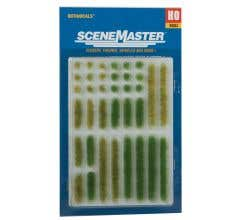 Walthers #949-1104 Grass Tufts & Strips - Spring