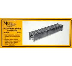 Micro Engineering HO #75-501 50' Open Deck Girder Bridge Kit