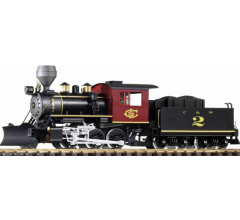 Piko #38224 Steam Locomotive with Tender 'Mogul' C&S (Digital with Sound and Smoke)