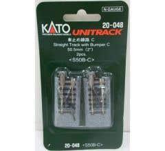 """Kato #20-048 50.5mm (2"""") Bumper Type C [2 pcs]"""