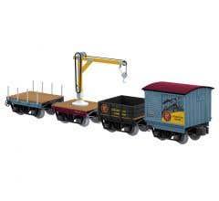 Lionel #2026680 Polar Express Elf Work Train 4-Pack