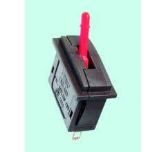 Peco #PL26R Passing Contact Switch - Red Lever