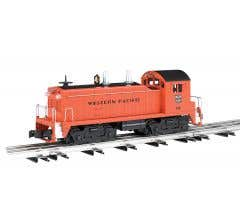 Williams #21653 NW-2 Scale Diesel w/ Sound - Western Pacific #608