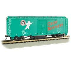 Bachmann #16321 Track Cleaning Box Car - GREAT NORTHERN #27429