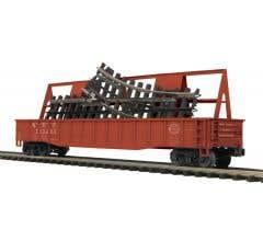 MTH #20-95136 Gondola Car w/ScaleTrax O-31 Switch - New York Central