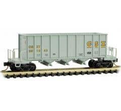Micro Trains #12500102 CSX #291840 - 43' Rapid Discharge Hopper