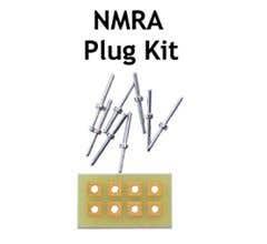 TCS #1255 CBU 8 Pin NMRA plug circuit board unassembled