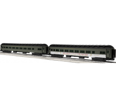 Lionel #1927110 Southern Pacific 18' Passenger Car 2 Pack #1