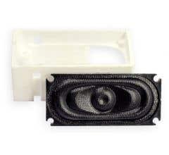 TCS #1714 ATL-SH1 Atlas RS Speaker Housing for included 35mm x 16mm Speaker