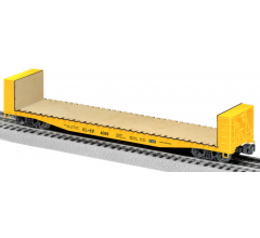 Lionel #1926432 Frisco 50' Bulkhead Flatcar #4058