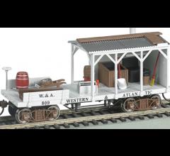 Bachmann #16402 Old Time Maintenance Blacksmith Car - Western & Atlantic