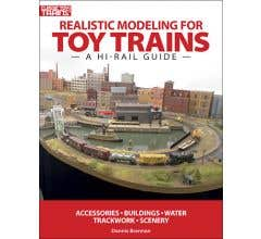 Kalmbach #108390 Realistic Modeling for Toy Trains