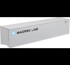Atlas #50004166 40' Standard Height Container Maersk Line MRKU Set #1