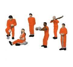 Lionel HO #1957180 Prison Work Crew- Orange