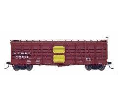 InterMountain #47909 Stock Car - ATSF - SK-S
