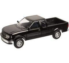 Atlas #2941 Ford 1997 F-150 Pickup Truck - Black (2 pack)