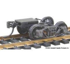 Kadee#503 HO-Scale Arch Bar Trucks ready-to-mount metal couplers