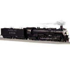 Lionel #2031170 Santa Fe #3759 4-8-4 Locomotive