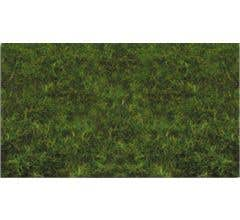 "Bachmann #31012 Pull-Apart 2mm Static Grass - Medium Green (one 11"" X 5.5"" sheet)"
