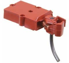 Kadee #800 O Scale Medium Centerset Plastic Couplers with Plastic Gearboxes - Red Oxide