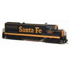 Bowser #23835 GE U25B Loco w/DCC & LokSound - Santa Fe #1608