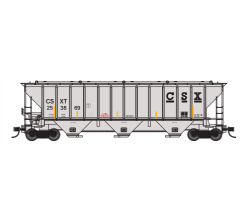 Trainworx #24424-05 PS4427 Covered Hopper - CSXT #253869