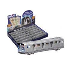 Daron #TM703 HO MTA Pullback Subway Car
