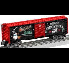 Lionel #1928490 2019 Christmas Boxcar