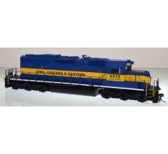 Bowser #24166 GMD SD 40-2 w/DCC/Sound - Iowa Chicago & Eastern #6215