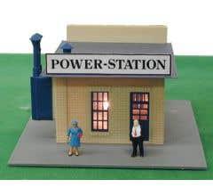 Model Power 580 Power Station - Built up