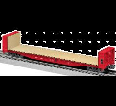 Lionel #1926411 MKT 50' Bulkhead Flatcar #13912