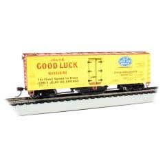Bachmann #16336 Track Cleaning Woodside Reefer - Jelke Good Luck Margarine