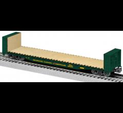 Lionel #1926422 Seabroad Air Line 50' Bulkhead Flatcar #48124