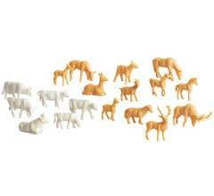 Lionel #1930310 Unpainted Animals 36-Pack