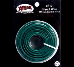 Atlas O #317 Layout Wire-Green 50'