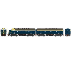 Athearn #G12418 F7 A/B w/DCC & SNDATSF/Cat Whiskers#212L/#212A