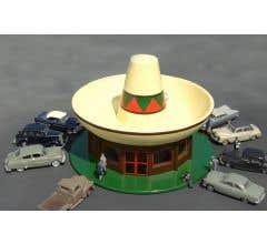 BACHMANN #35204 Sombreo Restaurant - Roadside U.S.A