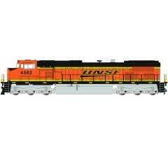 Bachmann #90907 BNSF #4562 Dash 9 Diesel