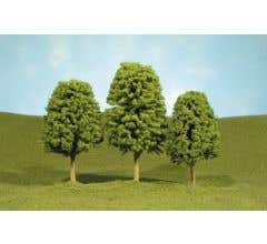 """Bachmann #32006 3"""" - 4"""" Deciduous Trees three pieces per pack"""