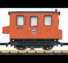 LGB #20060 WP&YRR Gang/Motor Transition Car-Orange